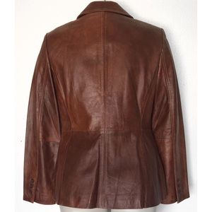 INC International Concepts Jackets & Coats - I.N.C INTERNATIONAL CONCEPTS LEATHER JACKET BLAZER